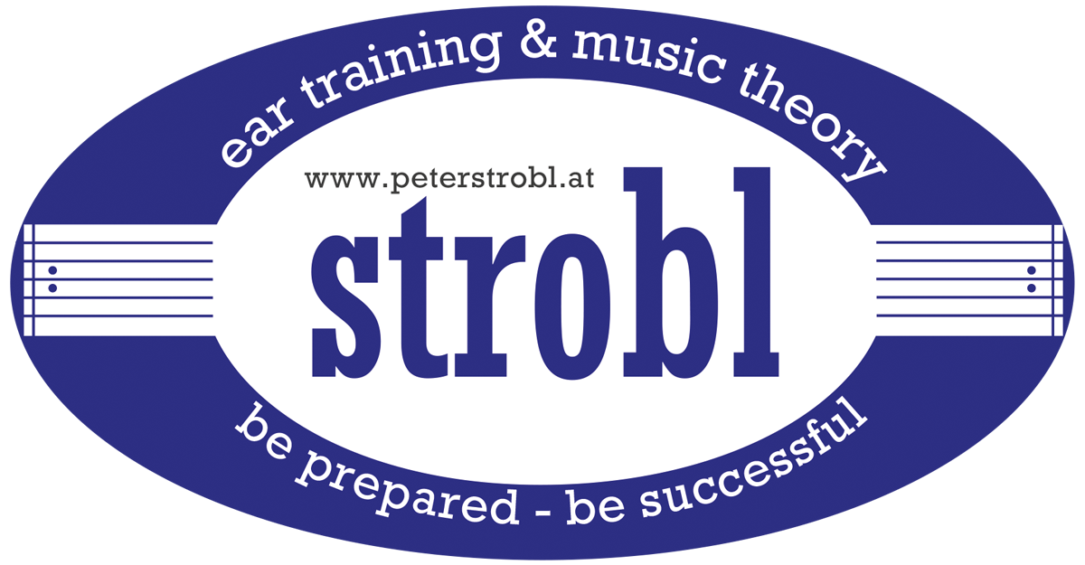 Peter Strobl | ear training & music theory
